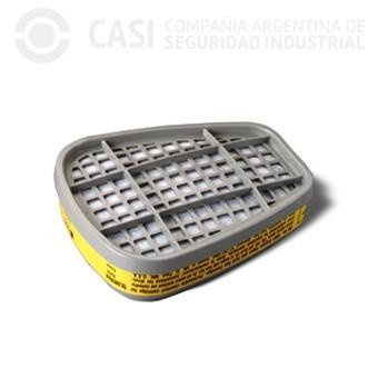 CARTUCHO 6003 VAPORES ORGANICOS Y GASES ACIDOS
